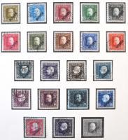 Ausztria 1850-1937 tartalmas gyűjtemény erős klasszikus résszel, jobb kiadásokkal és értékekkel, hozzá Bosznia Hercegovina és K.u.k. Feldpost gyűjtemények, Lindner előnyomott albumban. Magas katalógus érték!!