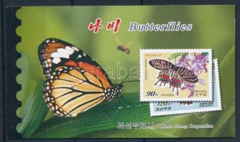 Lepkék bélyegfüzet, Butterfly stamp booklet