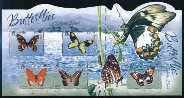 Butterfly minisheet Lepkék kisív