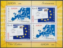 Europa CEPT: Letter block Europa CEPT: Levél blokk