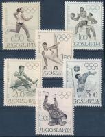 1968 Nyári olimpia sor Mi 1290-1295