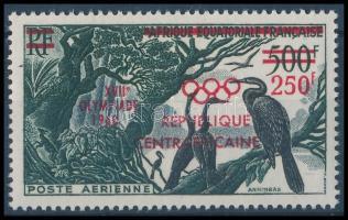 Summer Olympics overprinted stamp, Nyári Olimpia, Róma felülnyomott bélyeg