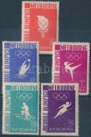 Olympics, Olimpia sor