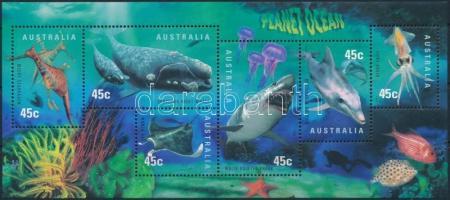 Sea wildlife block, Tengeri állatok blokk