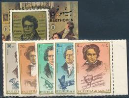 Beethoven set + block Beethoven sor + blokk