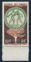 1964 Nyári olimpia ívszéli bélyeg Mi 65