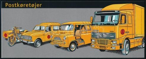 Postage vehicles stamp-booklet, Postai járművek bélyegfüzet