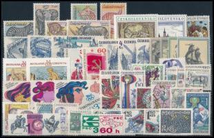 1976 49 klf bélyeg, csaknem a teljes évfolyam kiadásai