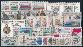 36 stamps, 36 klf bélyeg, csaknem a teljes évfolyam kiadásai
