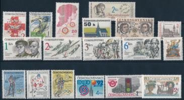 18 stamps, 18 klf bélyeg, közte sorok