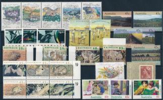 30 stamps + 1 stamp-booklet, 30 klf bélyeg és 1 bélyegfüzet