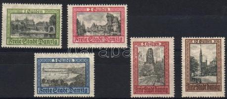 1924 Mi 207-211