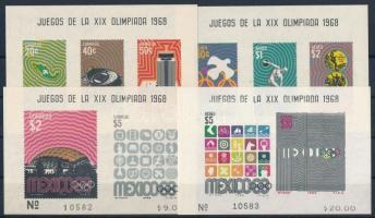 Olympic games block set Olimpia blokksor