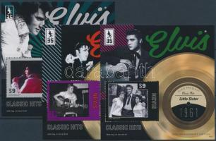 Elvis Presley 3 blocks Elvis Presley 3 klf blokk