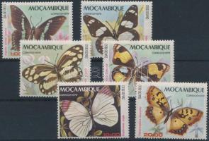Butterfly set Bélyegnap: lepkék sor