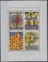 Hundertwasser  block, Hundertwasser festmény blokk