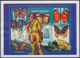 Butterflies block, Pillangó blokk