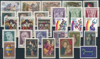 28 stamps and sets 28 db bélyeg, közte sorok