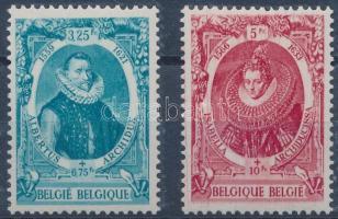 Tubercolosis set from a block, Tuberkulózis blokkból kitépett bélyegek