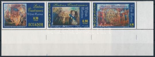 2002 Festmény ívsarki ötöscsík Mi 2631-2635