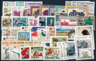 54 stamps + 3 blocks + minisheet 54 klf bélyeg + 3 klf blokk + kisív, csaknem a teljes évfolyam kiadásai