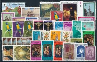 1967-1996 6 diff sets + 16 diff stamps, 1967-1996 6 klf sor + 16 klf önálló érték