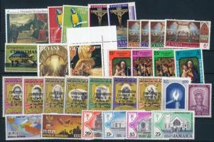 1966-1997 11 diff stamps + 4 diff sets, 1966-1997 11 klf önálló érték + 4 klf sor