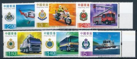 Government transport margin set, Kormányzati közlekedési és szállítóeszközök ívszéli sor