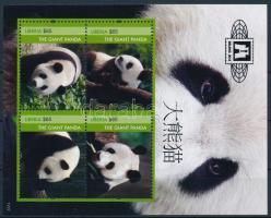 International stamp exhibition BEIJING 2012 block Nemzetközi bélyegkiállítás BEIJING 2012, Peking: Óriáspanda blokk