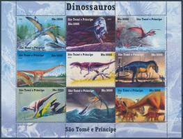 Sao Tomé és Principe, Prehistoric animals: dinosaurs, Sao Tomé és Principé Ősállatok: dinoszauruszok