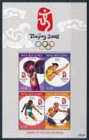 Summer Olympics: Beijing block, Nyári Olimpia: Peking blokk