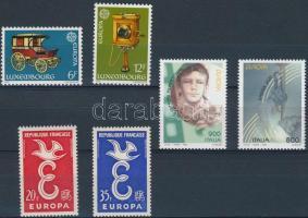 Europa CEPT 1958-1998 3 diff sets, Europa CEPT 1958-1998 3 klf sor
