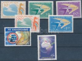 1959-2005 2 diff sets + 1 stamp, 1959-2005 2 klf sor + 1 önálló érték