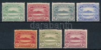7 definitive stamps 7 klf Forgalmi