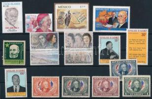 1950-2005 3 klf sor + 5 klf önálló érték, 1950-2005 3 diff sets + 5 diff stamps