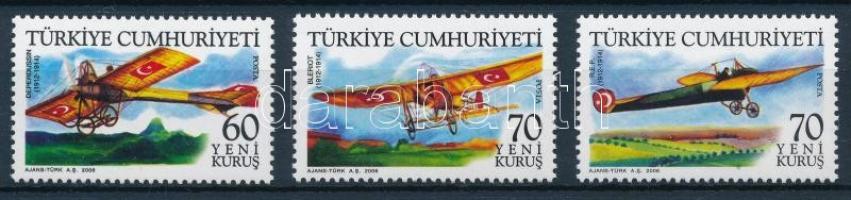 Airplanes of the Turkish airforce set A török légierő történelmi repülőgépei sor