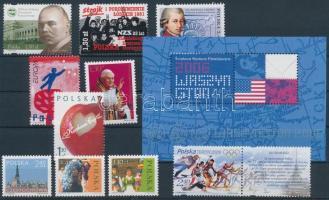 10 stamp + block, 10 klf bélyeg + blokk