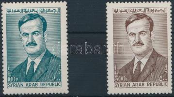 President Hafis al-Assad set, Hafis al-Assad elnök sor