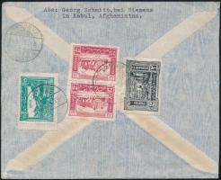Airmail cover to Germany, Légi levél Németországba