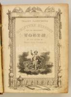 Talliss Illustrated Scripture History for the Improvement of Youth. 1. köt. London, é. n., London Printing and Publishing Company. Díszes, kicsit sérült bőrkötésben.