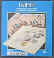Lindner ENSZ New York Zászló sorok 1997-2007 falcmentes előnyomott albumlapok új állapotban