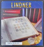 Lindner ENSZ New York 1980-2001 falcmentes előnyomott albumlapok, a Zészló sorok variációi, új állapotban