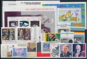 13 stamps + 4 block, 13 klf bélyeg + 4 blokk