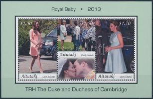 Royal Baby - The little crown prince block, Royal Baby - A kis trónörökös blokk