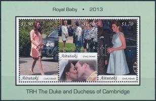 Royal Baby block, Royal Baby - A kis trónörökös blokk