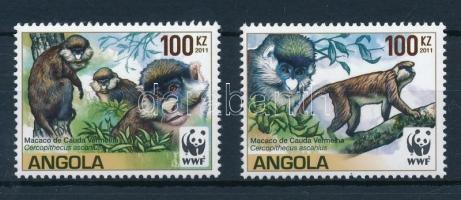 WWF: 2 values of red-tailed monkey set, WWF: Cerkófmajom sor 2 értéke