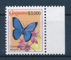 Definitive: Butterfly set margin closing value, Forgalmi: Lepke sor ívszéli záróértéke