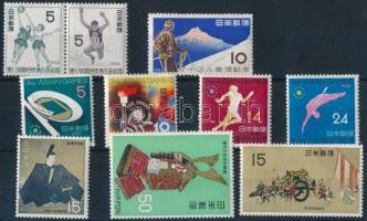 1956-1968  3 sets + 1 stamp, 1956-1968 3 klf sor + 1 önálló érték