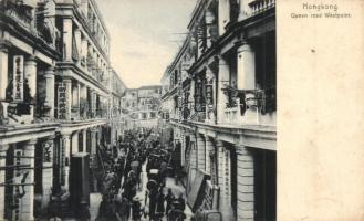 Hong Kong, Hongkong; Queen road Westpoint with shops