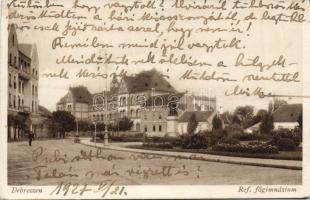 Debrecen, Református főgimnázium